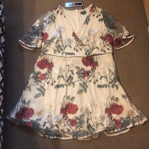 Gorgeous Floral Lovedrobe Dress US 18